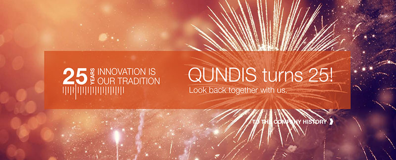 Anniversary 25 years of QUNDIS