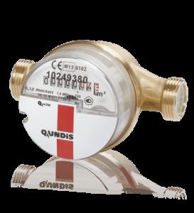 Механический одноструйный водосчётчик Q water