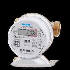 Elektronischer Verschraubungs-Wasserzähler Q water 5.5