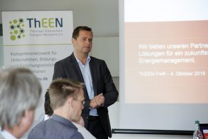 QUNDIS CEO Dieter Berndt at the 4th ThEEN conference