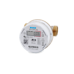 Electronic screw-type water meter Q water 5.5 (cold water)