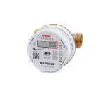 Electronic screw-type water meter Q water 5.5 (hot water)