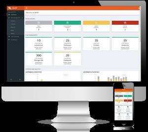 Web portal of QUNDIS Smart Metering Platform
